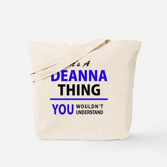 Cute Deanna Tote Bag