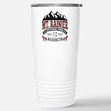 Mt. Rainier Vintage Travel Mug