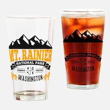 Mt. Rainier Vintage Drinking Glass