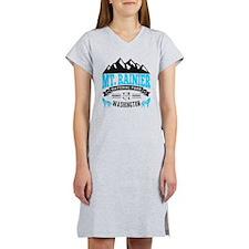 Mt. Rainier Vintage Women's Nightshirt