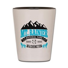 Mt. Rainier Vintage Shot Glass