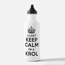 Funny Krol Water Bottle