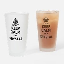 Unique Krystal Drinking Glass