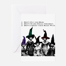 Cute Wiccan and witchcraft Greeting Cards (Pk of 20)