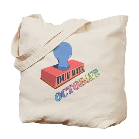 October Due Date Tote Bag