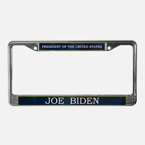 Joe Biden President V3 License Plate Frame