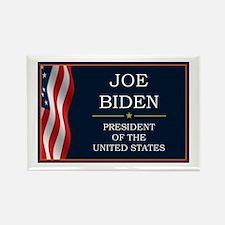 Joe Biden President V3 Rectangle Magnet