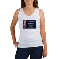 Elizabeth Warren President V3 Women's Tank Top