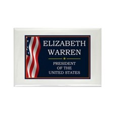 Elizabeth Warren President V3 Rectangle Magnet