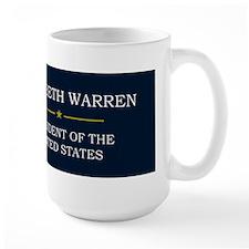 Elizabeth Warren President V3 Mug