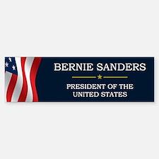 Bernie Sanders President V3 Bumper Bumper Sticker