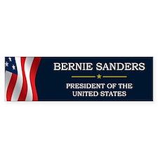 Bernie Sanders President V3 Bumper Sticker
