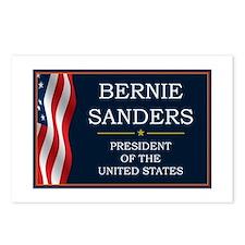 Bernie Sanders President Postcards (Package of 8)