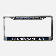 Bernie Sanders President V3 License Plate Frame
