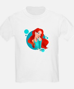 Ruby and Teal T-Shirt