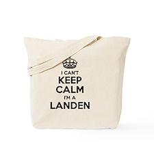 Funny Landen Tote Bag