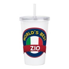World's Best Zio Acrylic Double-wall Tumbler