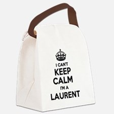 Funny Laurent Canvas Lunch Bag