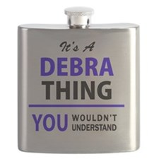 Cute Debra Flask