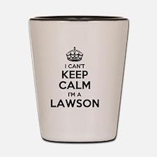 Cute Lawson Shot Glass