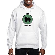 Team Samoyed (green) Hoodie