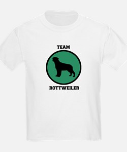 Team Rottweiler (green) T-Shirt
