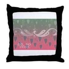 Cute Sweet watermelon Throw Pillow