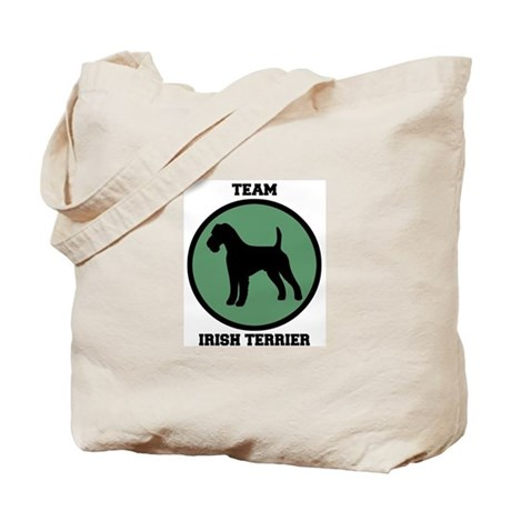 Team Irish Terrier (green) Tote Bag