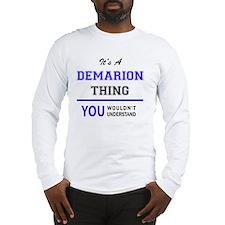 Cute Demarion Long Sleeve T-Shirt