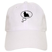 Thinking of Komondor Baseball Cap