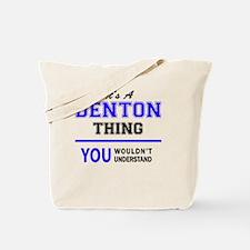 Funny Denton Tote Bag