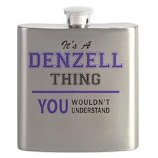 Cute Denzel Flask