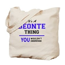 Cute Deonte Tote Bag