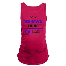 Cute Deshawn Maternity Tank Top