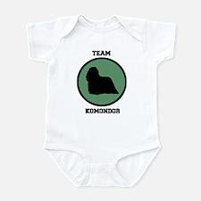 Team Komondor (green) Infant Bodysuit
