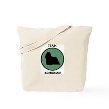 Team Komondor (green) Tote Bag