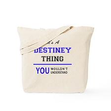Cute Destiney Tote Bag