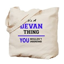 Cute Devan Tote Bag