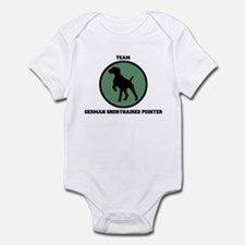 Team  German Shorthaired Poin Infant Bodysuit