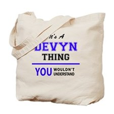 Cute Devyn Tote Bag