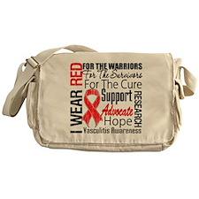 Vasculitis Awareness Messenger Bag