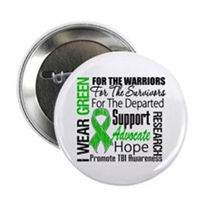 """TBI Awareness Tribute 2.25"""" Button (100 pack)"""