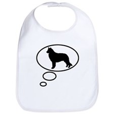 Thinking of Belgian Sheepdog Bib