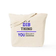 Cute Dib Tote Bag