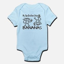 My Twin Brothers Infant Bodysuit