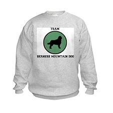Team Bernese Mountain Dog (gr Sweatshirt