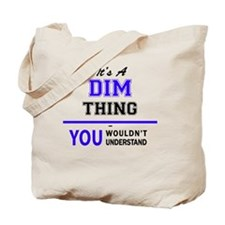 Funny Dimmed Tote Bag