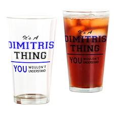 Cute Dimitri Drinking Glass