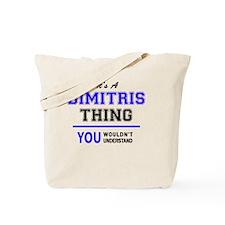Unique Dimitri Tote Bag