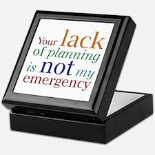 Planning Keepsake Box